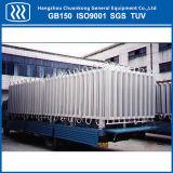 Vaporizer ambiental gás-ar de GNL do CO2 do argônio do nitrogênio do oxigênio líquido