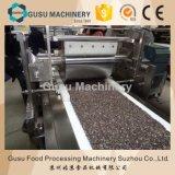 يركّب شوكولاطة طلية جوز هند قضيب يجعل آلة