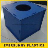el plástico acanalado 96X48 cubre 4X8 Coroplast para hacer publicidad de la muestra