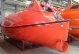 Solas de caída libre del bote salvavidas de pescante dispositivo de puesta