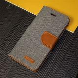 Caja del teléfono del cuero de la cubierta del tirón para el iPhone 6/6s más SE 5
