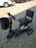mini triciclo eléctrico plegable de 350W 48V con la batería de litio (MS-013)