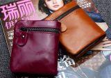 Бумажники Brown кожаный короткие для Unisexs