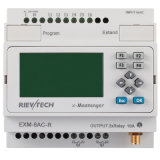 PLC di GSM/SMS/GPRS, Ideal Solution per Remote Control& Monitoring che &Alarming Applications (EXM-8AC-R-HMI)