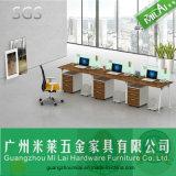 キャビネットが付いている優秀な品質の鉄骨フレームのオフィス用家具のスタッフ表