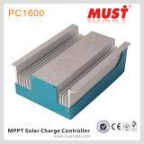 Controlador solar Inbuilt compato da carga do tamanho DSP 20A 30A 40A MPPT da obrigação