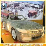 L'automobile del granito ha modellato la scultura intagliata mano della scultura