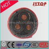 noyau moyen du câble trois de la tension 3.6/6kv/câble cuivre à plusieurs noyaux de pouvoir d'isolation de XLPE