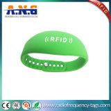 Bracelet intelligent personnalisé de montre d'IDENTIFICATION RF de silicones