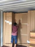 De vuurvaste Houten Deur van pvc voor Commerciële Gebouwen