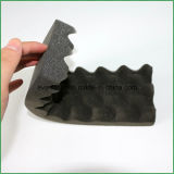 皿に使用する衝撃の証拠のピラミッドの形ポリウレタンスポンジの開いたセル