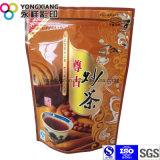 Saco especial de pé do empacotamento plástico de /Coffee do chá da folha com produto comestível