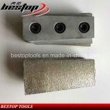 Trapèze Abraisve de L135mm meulant Fickert pour des outils d'abrasif de granit