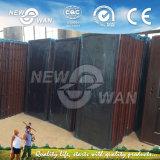 Porta de aço laminada da segurança da folha da porta única porta de aço (NSD-1006)