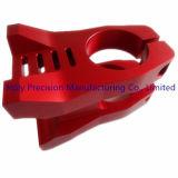 Peças fazendo à máquina do CNC para a braçadeira da bicicleta feita de Alumium 7075/6061-T6
