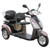 Deluxe Saddle (TC-016B)の500With700W Motor Two Seats Electric Tricycle