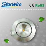 Sw-Dlr01 LED die Schrank-Leuchten/, die unter Schrank beleuchtet vertieft werden unten