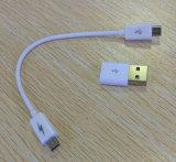 USB 섬광 드라이브를 가진 1개의 2000mAh 카드 모양 힘 은행에 대하여 도매 2