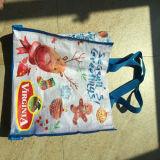 Sac tissé promotionnel de sac d'emballage de pp pour le cadeau