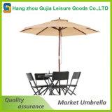 Poliestere esterno del giardino che inclina l'ombrello di spiaggia dello schermo di Sun del parasole