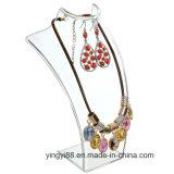 Индикация ювелирных изделий прямой связи с розничной торговлей фабрики акриловая для ожерель