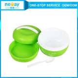 Custom barato Plastic Crisper Fresh Round Food Container para Kids