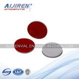 Venda quente! Septos de PTFE/Silicone para o tubo de ensaio 100PCS/Pack da HPLC de 2ml 9-425