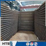 Zugelassene ASME Standarddampfkessel-Wasser-Gefäß-Membranen-Wasser-Wand für die Wiederverwertung des Wassers