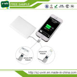 Chargeur portatif de téléphone mobile avec le câble intrinsèque
