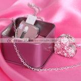 USB ювелирных изделий привода вспышки диаманта сердца горячего пинка привесной кристаллический (YT-6263)
