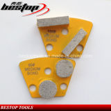 Diamant Grinding Béton Plaque avec Segments Double Medium Bond diamant