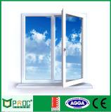 2017 As2047/As2208の新しい現代デザインアルミニウム開き窓のガラス窓