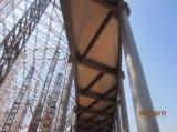 Folha galvanizada Yx65-185-555 do Decking do piso de aço