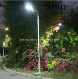 2016 lâmpada de rua solar completa solar Integrated do diodo emissor de luz da luz de rua do diodo emissor de luz do projeto novo 50W com preço do competidor
