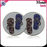 Barato Magnet Metal Magnetic Hat Clip Marcadores de bola de golfe