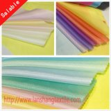 Tela de poliéster de fibra química para cortina de camisa de vestir