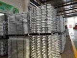 Tablón de acero con el material de construcción del andamio de Ringlock del gancho de leva para la construcción