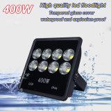 Luz de inundación del LED 400W Ángulo de haz estrecho de alto brillo de la buena calidad