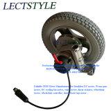 Motor eléctrico sin escobillas de la silla de ruedas de la CC con el regulador y el palillo de mando de la silla de ruedas