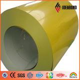 la couleur d'épaisseur de 0.09-1.2mm a enduit la bobine en aluminium (AE-38F)