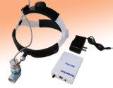 Chirurgisches zahnmedizinisches frontales Vergrößerungsglas und LED-nachladbarer Scheinwerfer