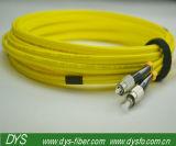Faser-Optikkabel FC FC zum einzelner Modus-Duplex (9/125) 3 Meter