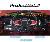Conduite de couleur rouge de vin de BMW sur le véhicule électrique de gosses de véhicule