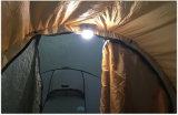 Lanterna di campeggio della lampada portatile ricaricabile della tenda
