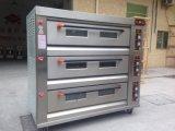 Handelstellersegment-Gas-Ofen der backen-Maschinen-3 der Plattform-9