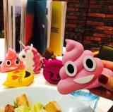 만화 PVC 미소 외침 마스크 Unicorn Emoji 힘 은행 2600mAh