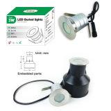 3W IP67 LED Projekt-Licht-im Freiengarten-Lampe