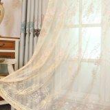 Флористическо Пряж-Покрасьте занавес окна светомаскировки жаккарда (21W0011)