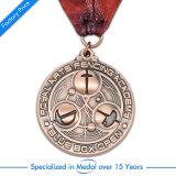 OEMのカスタム押す記念品の金のバスケットボールメダル