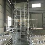 Andamio de acero calificado Ce de Cuplock en la construcción